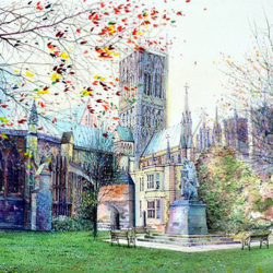 Cathedral Green, Autumnal
