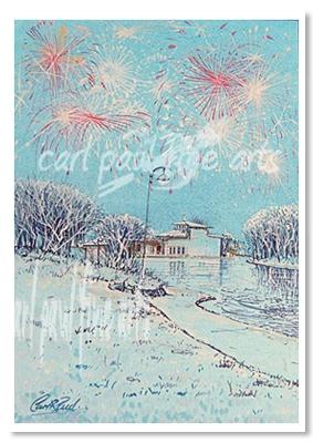 Boating Lake Fireworks