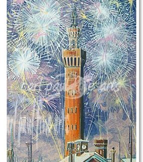 Dock Tower Fireworks