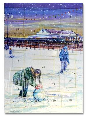 Cleethorpes Pier, Building A Snowman Advent Calendar