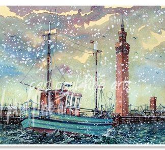 Home For Christmas, Grimsby Docks