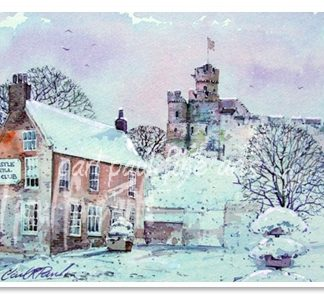 Lincoln Castle, Snowing this Christmas