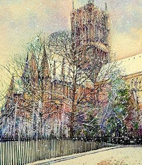 Lincoln Cathedral, Colours of Winter