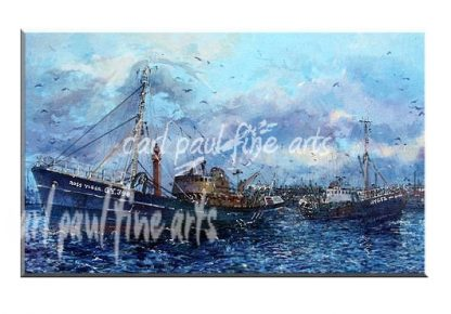 Ross Tiger / Ross Civet, Grimsby Docks