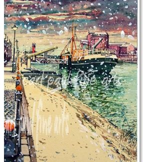 Ross Tiger, Snowfall, (Alexandra Docks, Grimsby)
