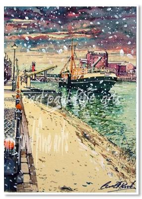 Ross Tiger, Snowfall, (Alexandra Docks, Grimsby)