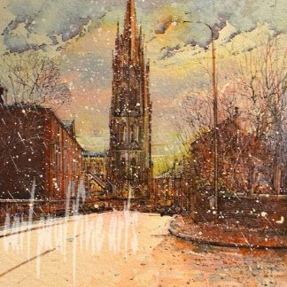 St. James Church, Louth, Snow showers