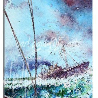 Ross Mallard, the fishing grounds