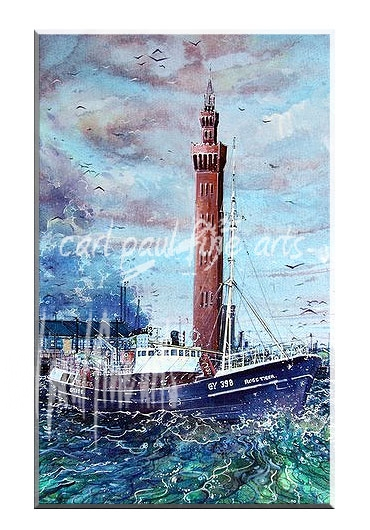 The Ross Tiger, Dock Tower, Grimsby Docks