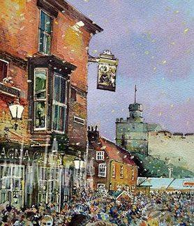 Christmas Market, Castle Square