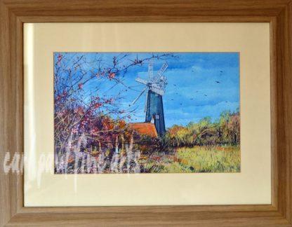 Waltham Windmill, Autumn Leaves