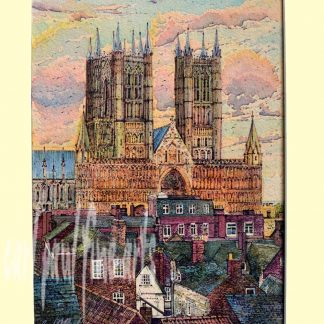 Rooftops, Lincoln Cathedral