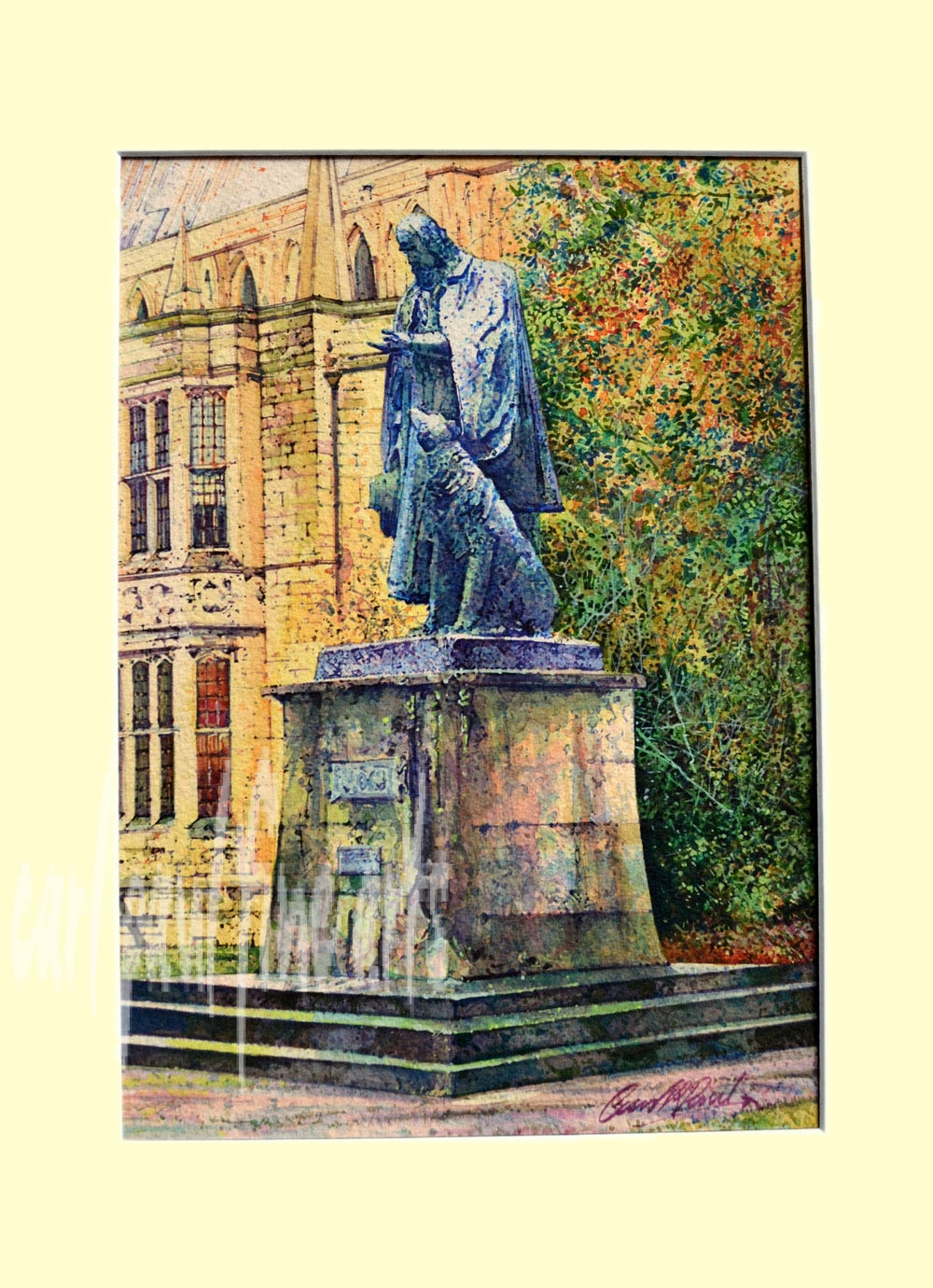 Tennyson, Cathedral Green, Colours of Nature, Lincoln Original
