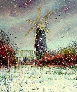 A Crisp Winter, Waltham Windmill