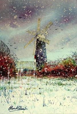 A Crisp Winter, Waltham Windmill