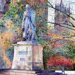 Colours of Autumn, Tennyson Memorial, Lincoln