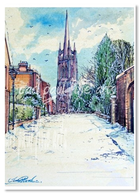 St James Church Snowfall (Louth)