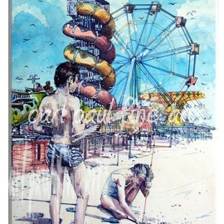 A day at the beach, Cleethorpes