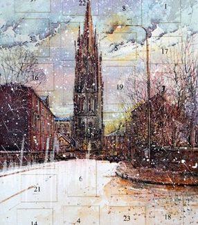 St James Church Louth 'Snow Storm'