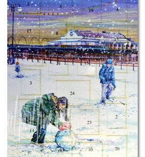Cleethorpes Pier, Building A Snowman Advent Calendar
