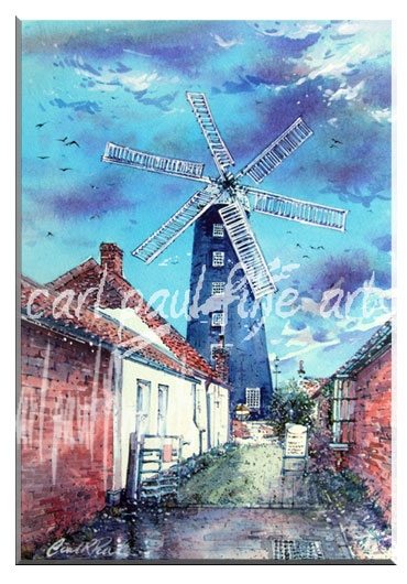 April Showers, Waltham Windmill