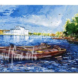 Boating Lake Reflection