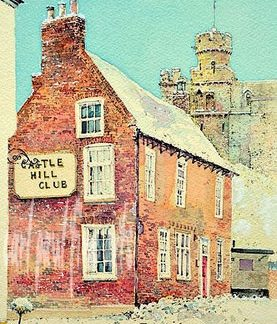 Castle Hill Club, Winter, Lincoln