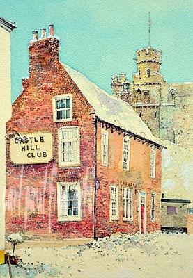 Castle Hill Club, Winter, Lincoln