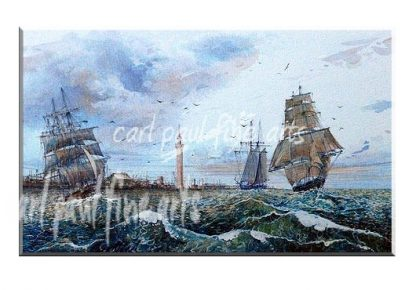 Full Sale, Grimsby Dock 1800s