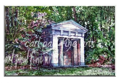 Greek Temple, Hubbards Hills (Summer)