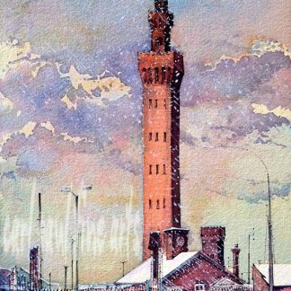 Grimsby Dock Tower, Winter