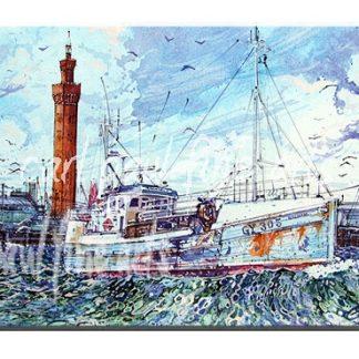 GY305 Rachael, Grimsby Docks