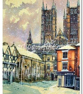 Lincoln Cathedral, Christmas Morning