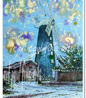 Merry Christmas and A Happy New Year, Waltham Windmill