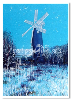 Starry Nights (Waltham Windmill)