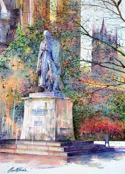 Tennyson, Colours of Autumn, Lincoln