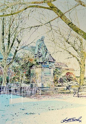 Tennyson, Cathedral Square, Winter
