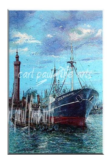 The Boston Fury, Grimsby Docks