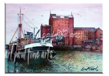 The Ross Tiger, Moored Up, Alexandra Dock, Grimsby