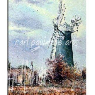 Waltham Windmill, Autumnal