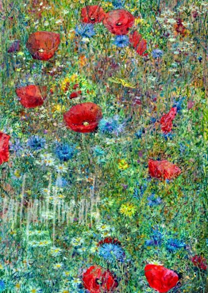 Wild Flower Meadow, Poppies