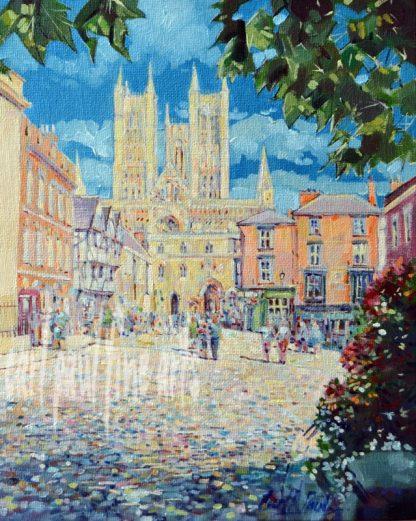 Castle Square, Mid Summer, Lincoln