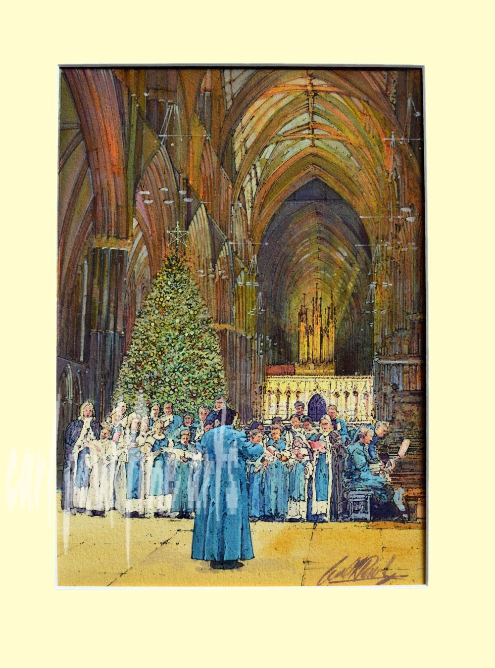 Christmas Carols, The Nave. Lincoln Cathedral