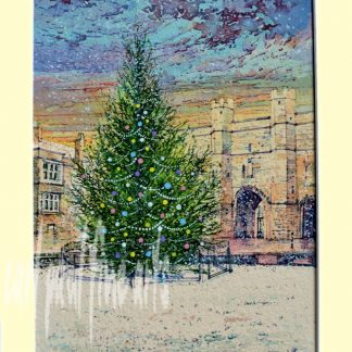 Christmas Tree, Exchequer Gate, Lincoln Original