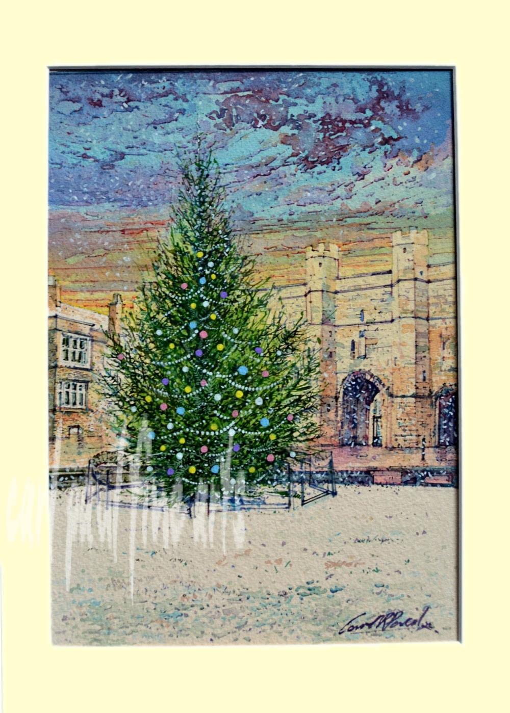 Christmas Tree, Exchequer Gate, Lincoln Original