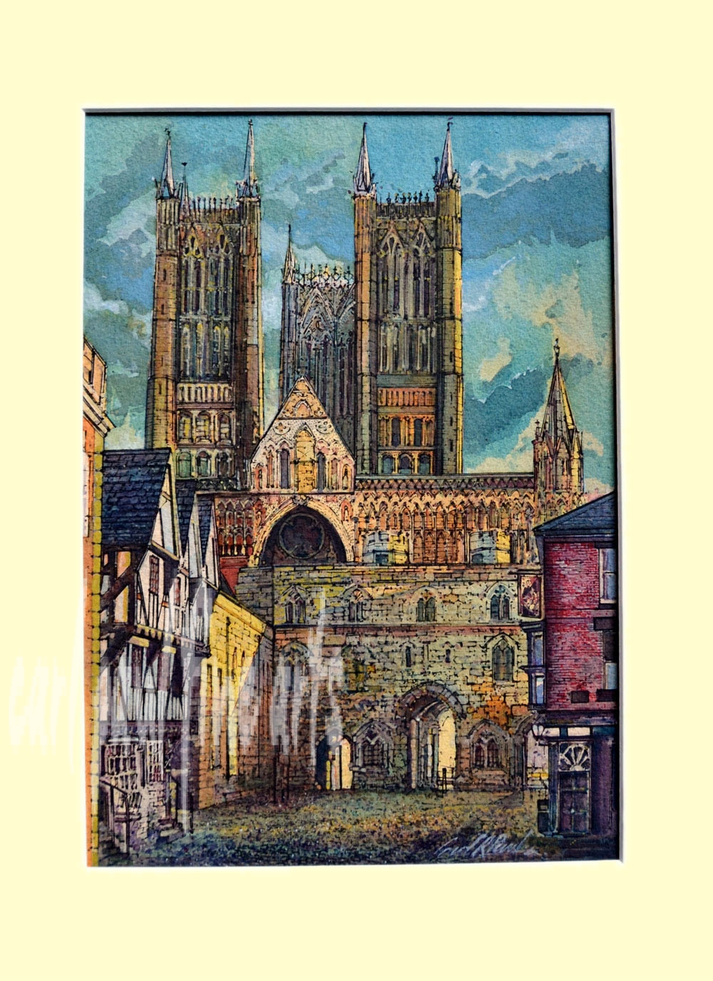 Exchequer Gate. Lincoln Cathedral