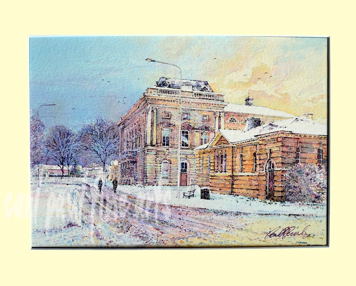 Grimsby Town Hall, Winter