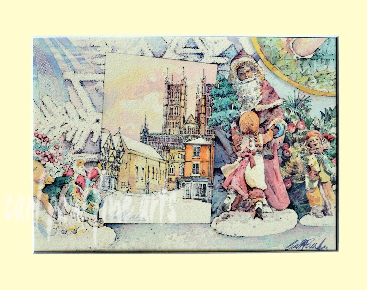 The Christmas Card, Lincoln Cathedral
