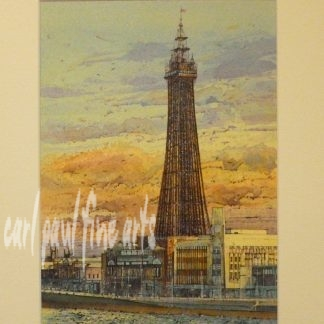 Early Evening, the Blackpool Tower